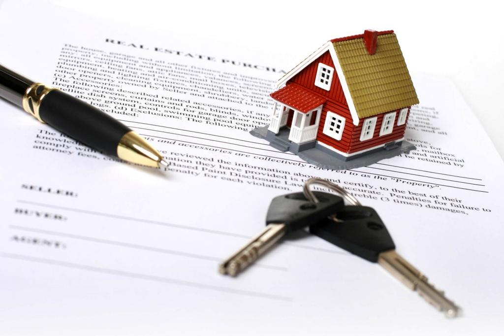 оформление купли продажи недвижимости